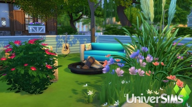 Sims 4 Sweet Cottage by Radjeny at L'UniverSims