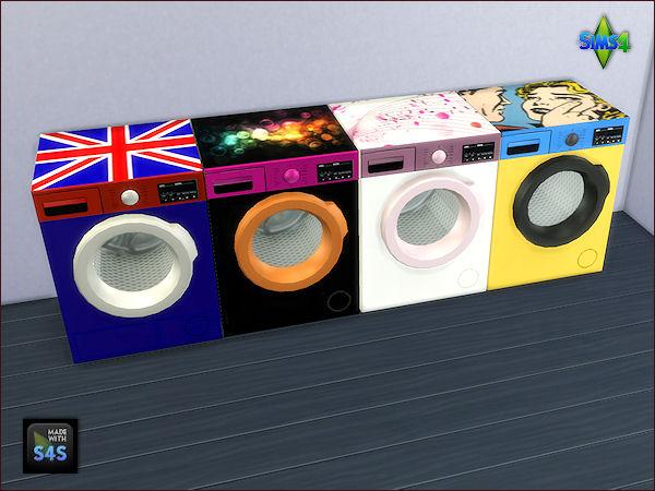 sims 3 washing machine