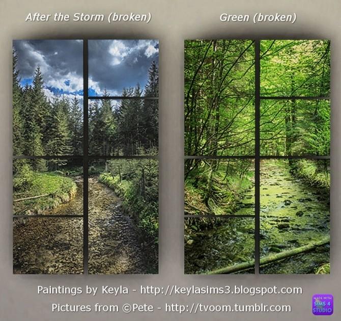Sims 4 Paintings Pete (tvoom) at Keyla Sims