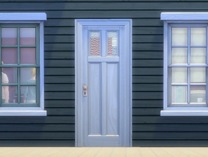 Sims 4 Two Tile Yeronga Entry Device by plasticbox at Mod The Sims