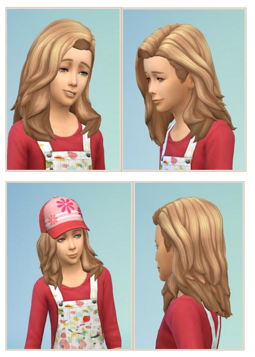 Sims 4 Girls Swinging Hair at Birksches Sims Blog