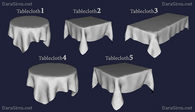 Tablecloth 187 Sims 4 Updates 187 Best Ts4 Cc Downloads
