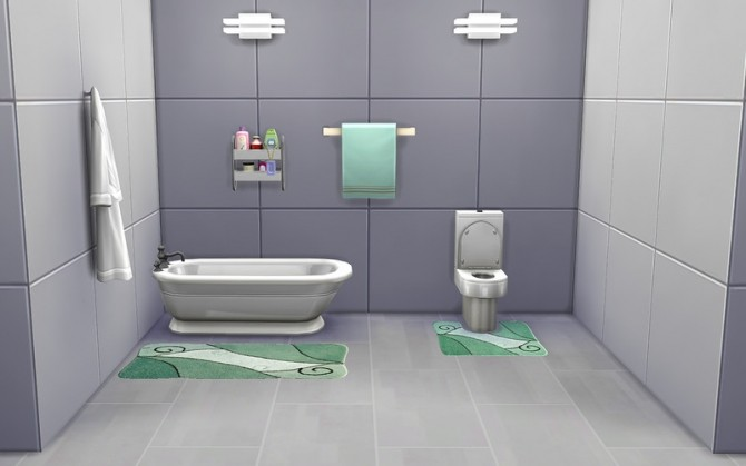 Bathroom Rugs At Ihelensims Sims 4 Updates