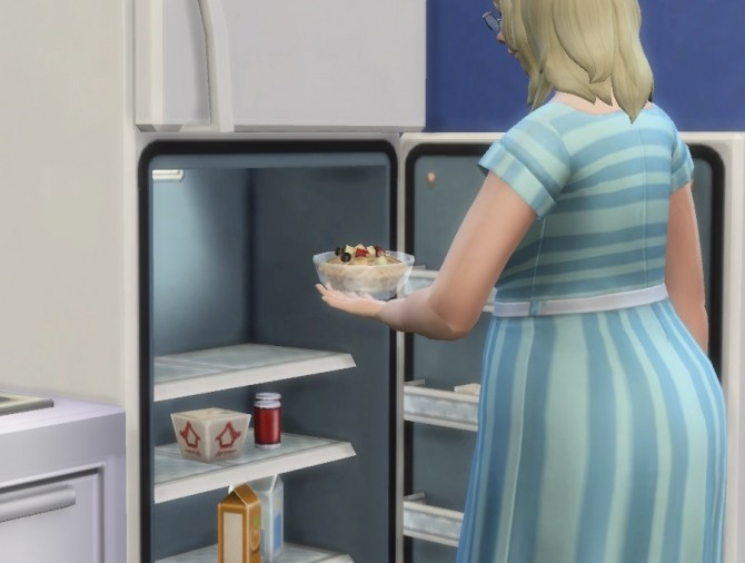Sims 4 Non Microwave Oatmeal by plasticbox at Mod The Sims