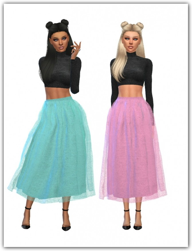 Marigold's Voluminous Lorn Flare Skirt Recolors at Maimouth Sims4 image 948 670x878 Sims 4 Updates