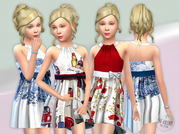 Designer Dresses Collection P12 by lillka at TSR image 968 Sims 4 Updates