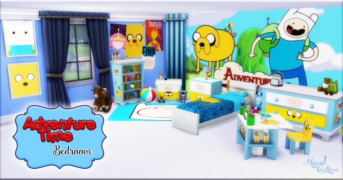 Bedroom Adventure Time At Victor Miguel 187 Sims 4 Updates