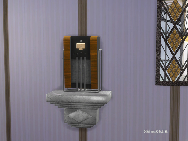 Art Deco Home Bar by ShinoKCR at TSR image 988 Sims 4 Updates