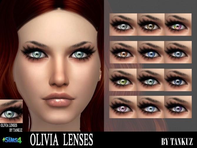 Sims 4 Olivia Lenses by Tankuz at TSR