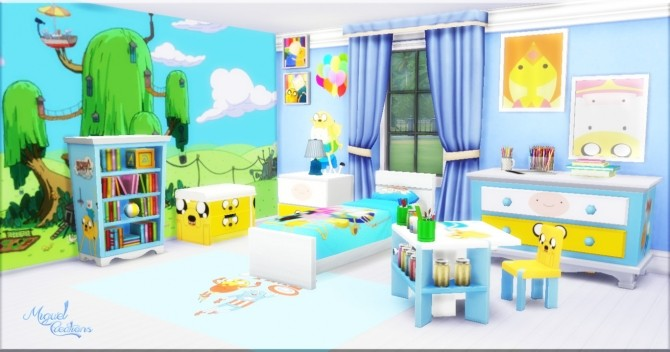 Bedroom Adventure Time at Victor Miguel image 997 670x352 Sims 4 Updates
