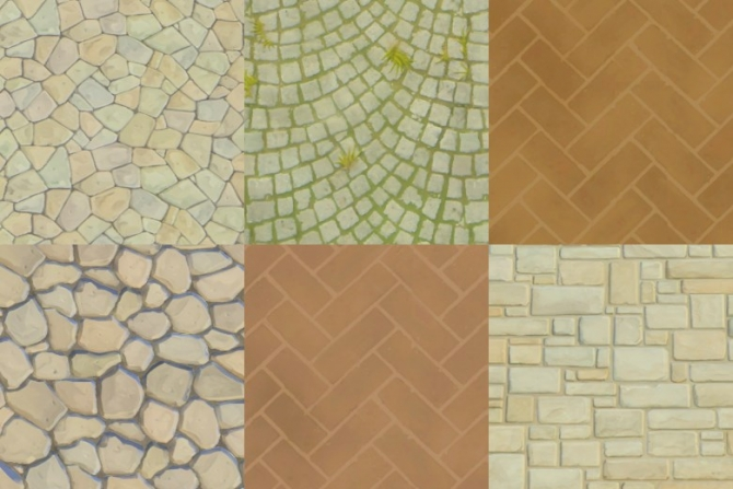 Sims Floor Elevation Cheat : Bg world wall terrain stone floors by plasticbox at mod