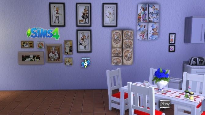 Sims 4 Chefs paintings at El Taller de Mane