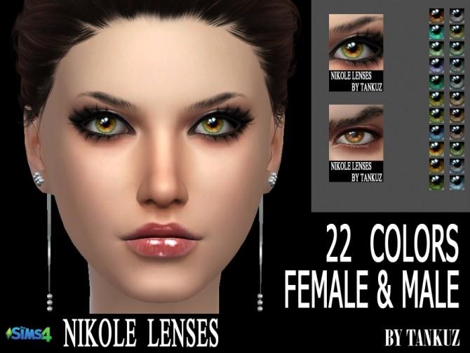 Sims 4 Nikole Lenses at Tankuz Sims4