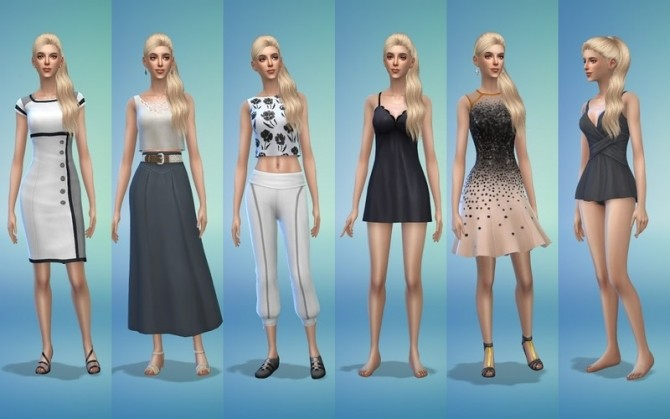 Sims 4 Ingrid by ihelen at ihelensims