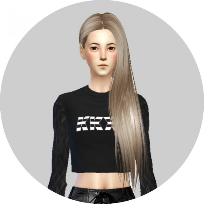 Sims 4 Butterflysims Hair 146 Recolor at Agatho Sims