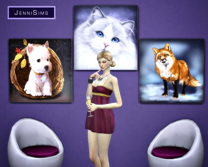 Paintings Gift Of Love (17 designs) at Jenni Sims image 10320 670x536 Sims 4 Updates