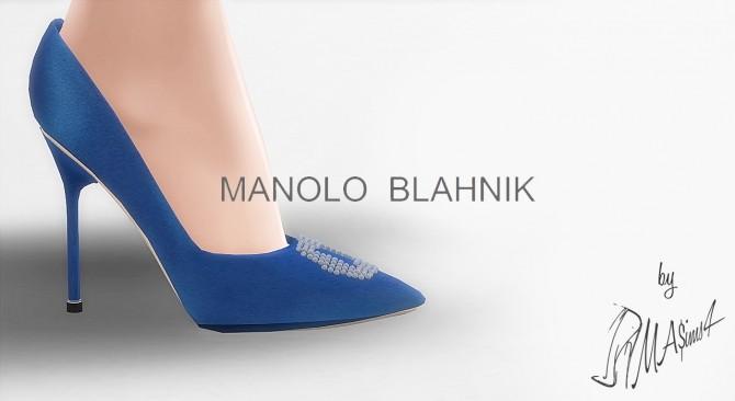 M.B. Hangisi Blue Satin Pumps by MrAntonieddu at MA$ims4 image 10518 670x366 Sims 4 Updates