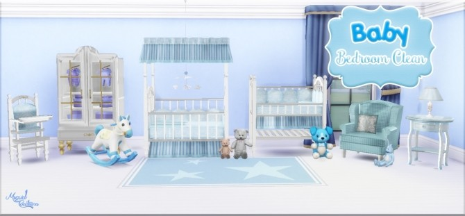 Baby Bedroom Clean At Victor Miguel 187 Sims 4 Updates