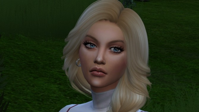 Sims 4 Mary by Elena at Sims World by Denver