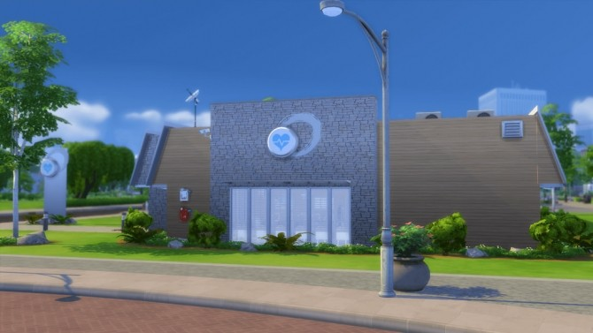 Sims 4 Belvedere Medical Clinic at RomerJon17 Productions