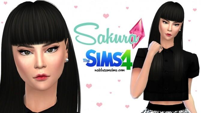 Sims 4 Sakura at Nat Dream Sims