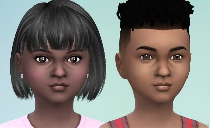 Sims 4 CU Natural Lips for Kids at Onyx Sims