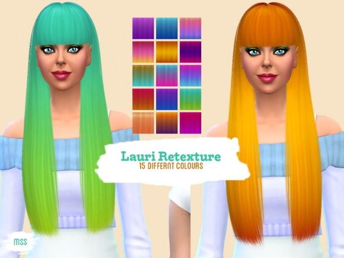 Sims 4 Nightcrawler Lauri retexture by midnightskysims at SimsWorkshop