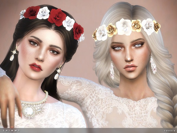 Shimmy Headband by toksik at TSR image 1200 Sims 4 Updates