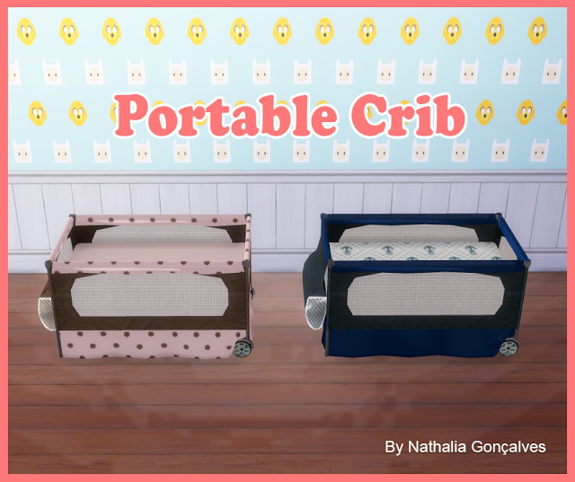 Portable Crib at Nathalia Sims image 1202 Sims 4 Updates