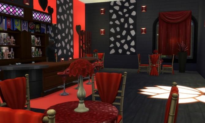 Sims 4 Valentine's Day club (no CC) at Tatyana Name