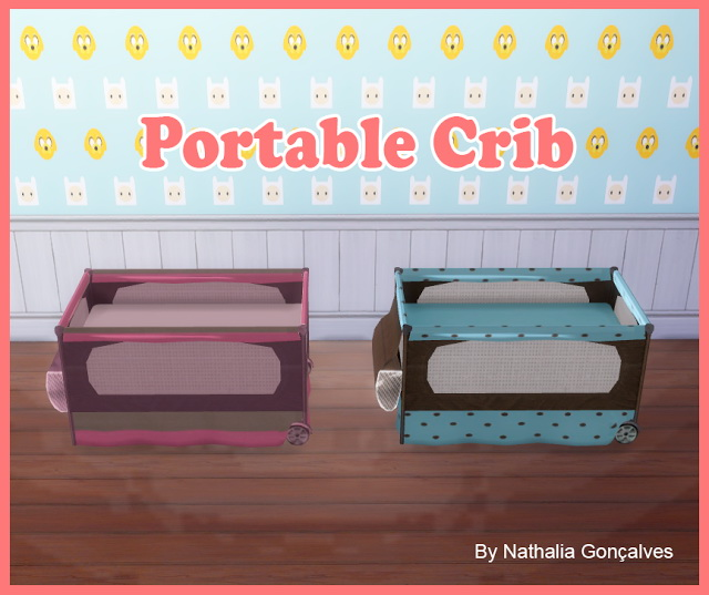 Portable Crib at Nathalia Sims image 1214 Sims 4 Updates