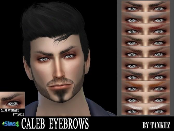 Sims 4 Caleb Eyebrows at Tankuz Sims4