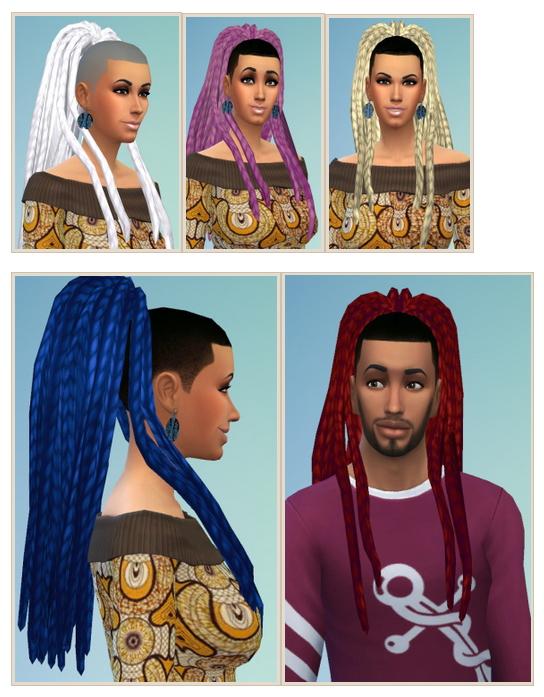 Ebonix Nouk Dreads Conversion Recolored at Birksches Sims Blog image 12215 Sims 4 Updates