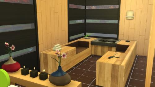 Sims 4 Sauna