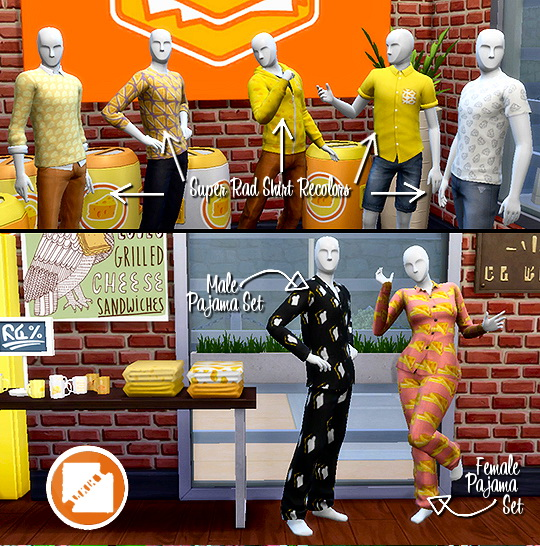 Grilled Cheese CC Stuff Pack by grilledcheese aspiration at SimsWorkshop image 12512 Sims 4 Updates