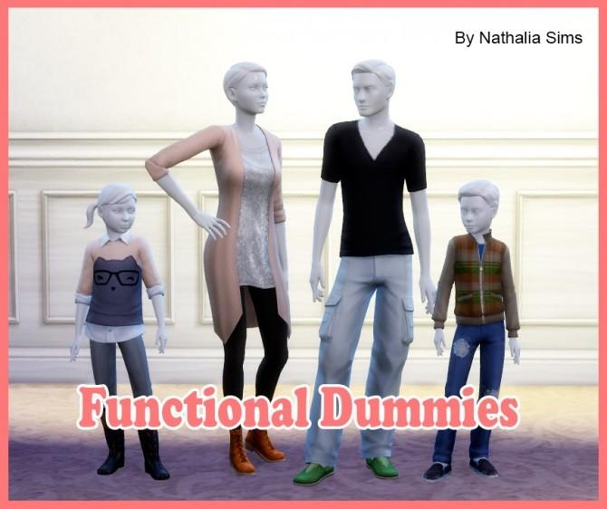 Sims 4 Functional Dummies at Nathalia Sims