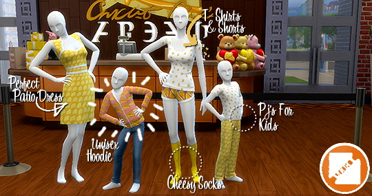 Grilled Cheese CC Stuff Pack by grilledcheese aspiration at SimsWorkshop image 12613 Sims 4 Updates