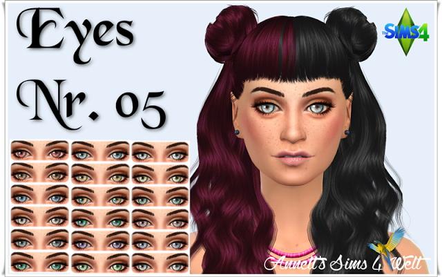 Sims 4 Eyes Nr. 05 at Annett's Sims 4 Welt