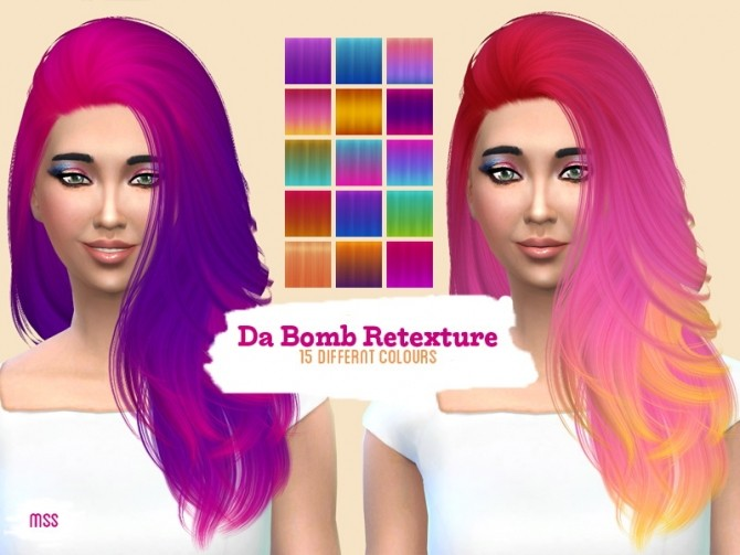 Sims 4 Nightcrawler Da Bomb retexture by midnightskysims at SimsWorkshop
