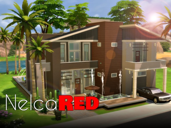Eco Modern Mansion by NelcaRed at TSR image 13102 Sims 4 Updates