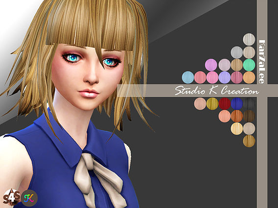 Crona animate hair 36 at Studio K Creation image 1325 Sims 4 Updates