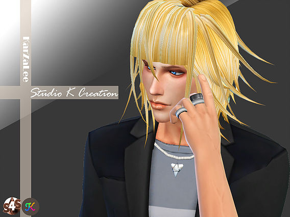 Crona animate hair 36 at Studio K Creation image 1334 Sims 4 Updates
