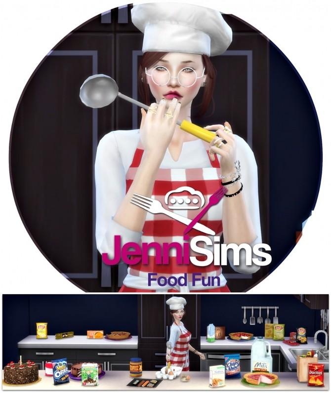 Food Fun 20 deco items + spoon acc. at Jenni Sims image 13512 670x796 Sims 4 Updates