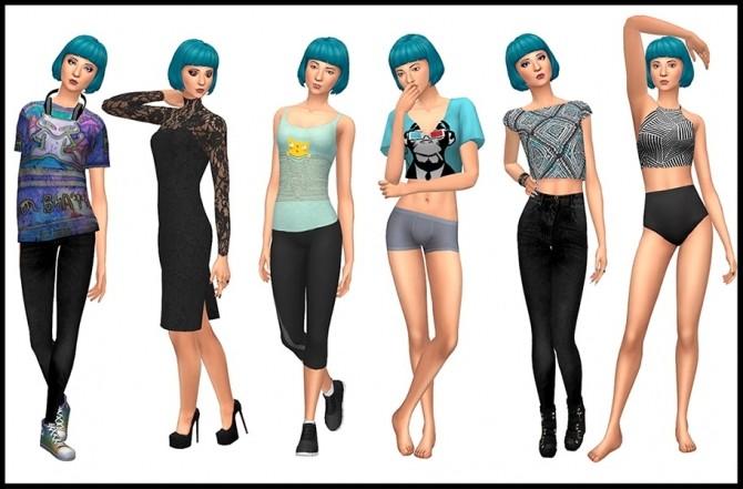 Sims 4 Behr Sisters (Maxis Makover) at ThatMalorieGirl