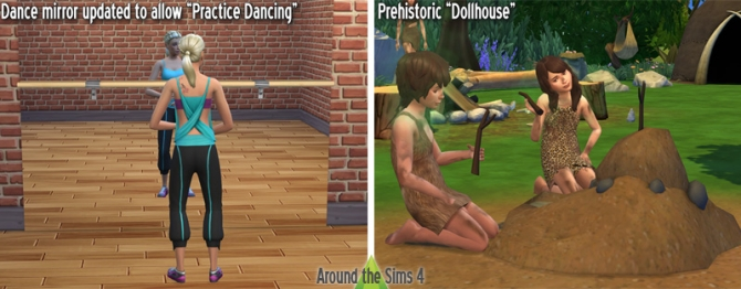 Prehistoric Dollhouse Dancing Mirror Updated At Around