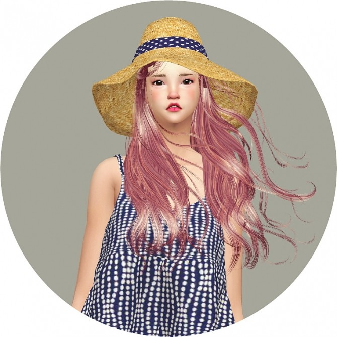 Back Ribbon Wide Floppy Hat at Marigold image 1397 670x670 Sims 4 Updates