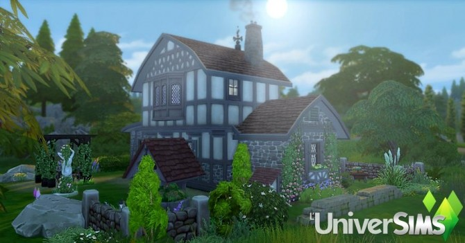 Sims 4 Lupins house by Sirhc59 at L'UniverSims