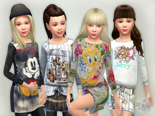 Sims 4 Designer Dresses Collection P16 by lillka at TSR