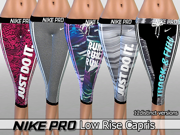 Low Rise Capris Pack by Pinkzombiecupcakes at TSR image 1412 Sims 4 Updates