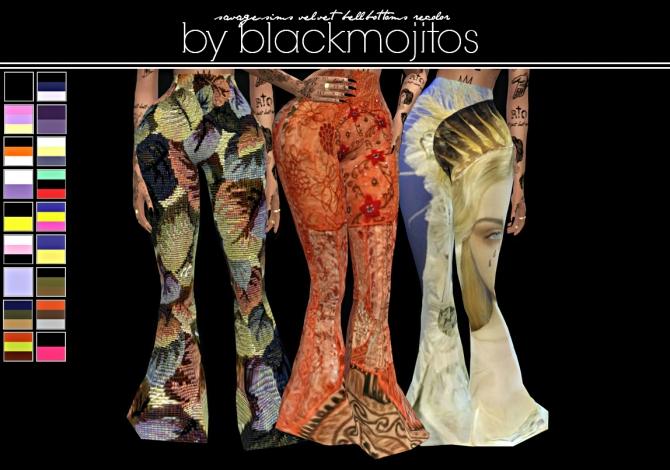 Pants At Blackmojitos 187 Sims 4 Updates